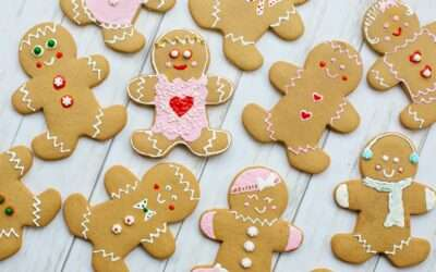 Gingerbread biscuit with coconut sugar recipe