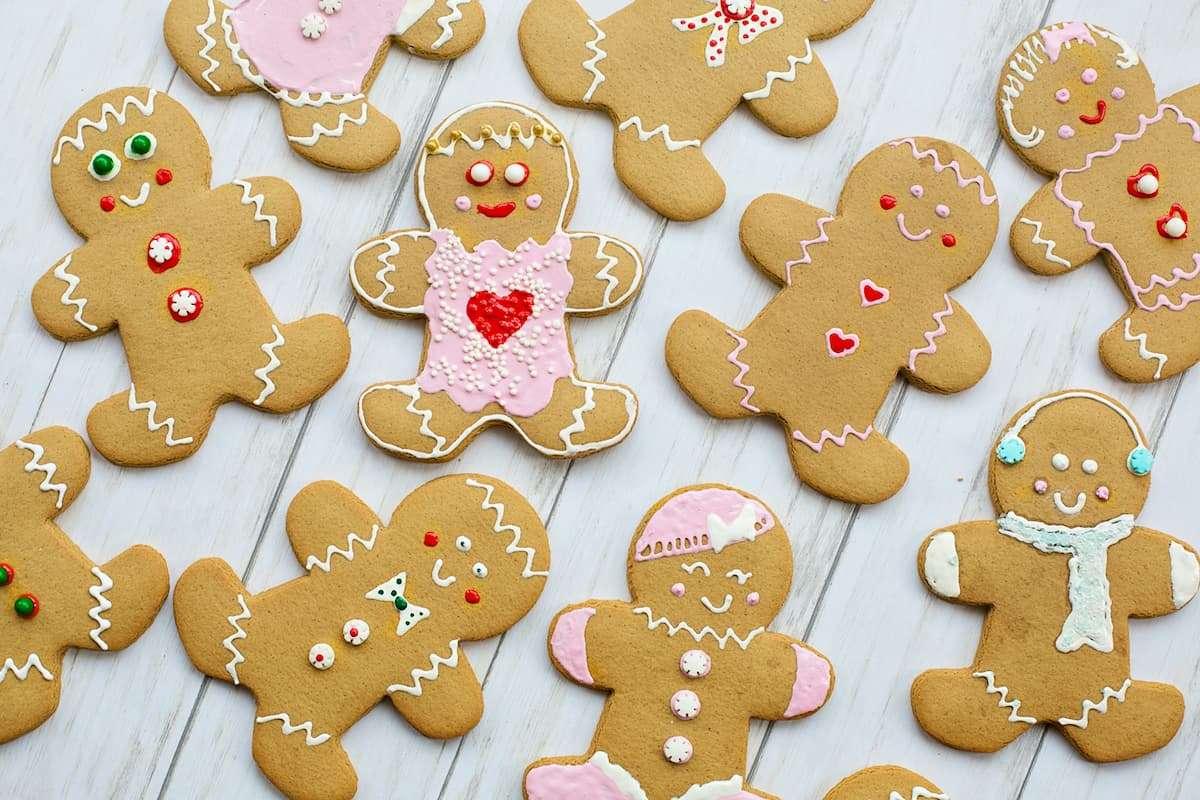 Gingerbread biscuits recipe